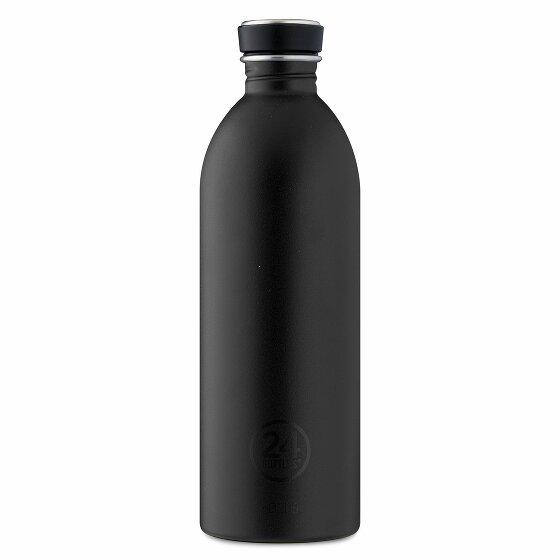 24Bottles Basic Urban Trinkflasche 1000 ml stone tuxedo black 557-stonetuxedoblack