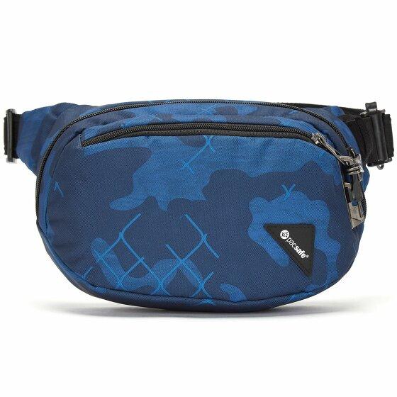 Pacsafe Vibe 100 Gürteltasche RFID 27 cm blue camo 60141-812