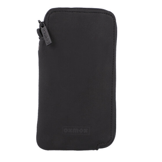 oxmox New Cryptan Smartphone Hülle Geldbörse 18 cm black 80-906-00