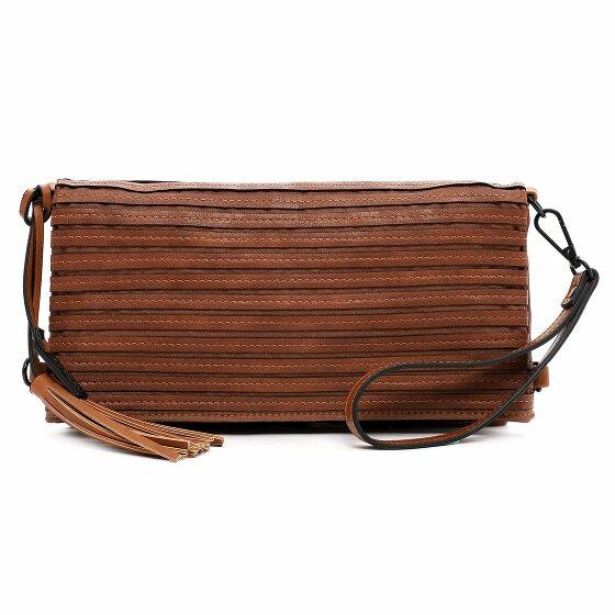 Tamaris Barbara Clutch Tasche 30 cm cognac 30750-700