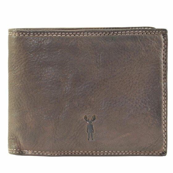 Jack Kinsky Wellington 101 Geldbörse Leder 12.5 cm mokka wellington101-880