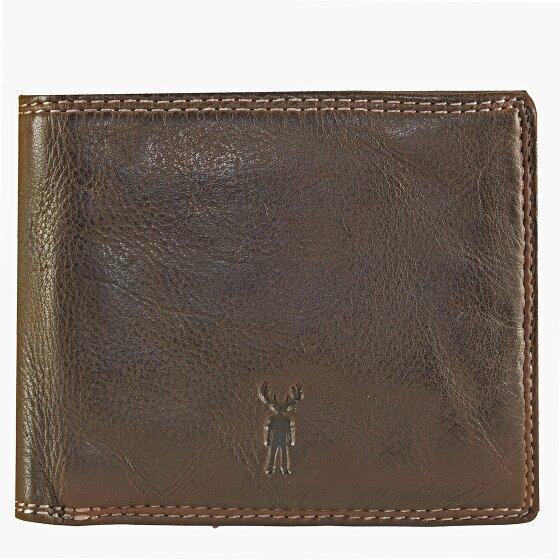 Jack Kinsky Wellington 109 Geldbörse Leder 11.5 cm mokka wellington109-880