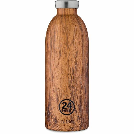 24Bottles Wood Clima Trinkflasche 850 ml sequoia wood 113-sequoiawood
