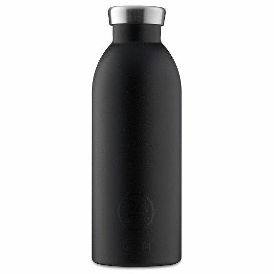 24Bottles Basic Clima Trinkflasche 500 ml stone tuxedo black 559-stonetuxedoblack