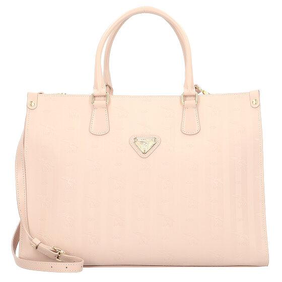 Maison Mollerus Zug Handtasche 40 cm rose/gold 01-2654-3908