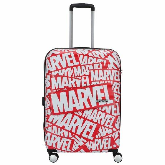 American Tourister Wavebreaker Marvel 4-Rollen Trolley 67 cm marvel logo 85671-8363