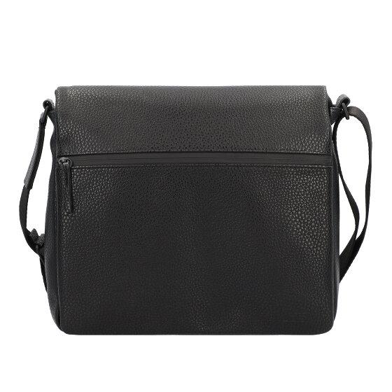 Jost Oslo Umhängetasche 33 cm Laptopfach schwarz 6483-001
