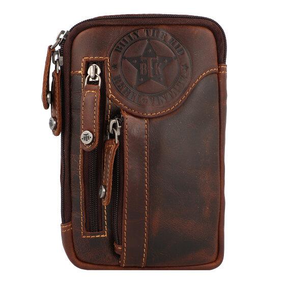 Billy the Kid Ranger Handytasche Leder 11 cm brown 0887-25