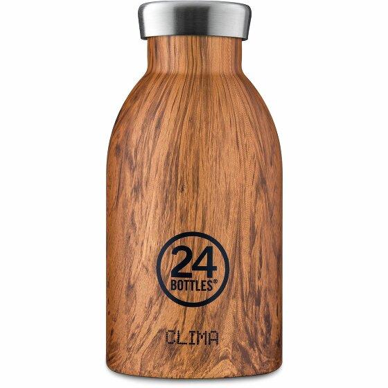 24Bottles Wood Clima Trinkflasche 330 ml sequoia wood 96-sequoiawood