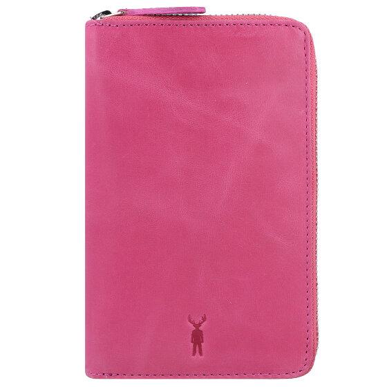 Jack Kinsky Montego 1017 Geldbörse Leder 16 cm pink Montego1017-110