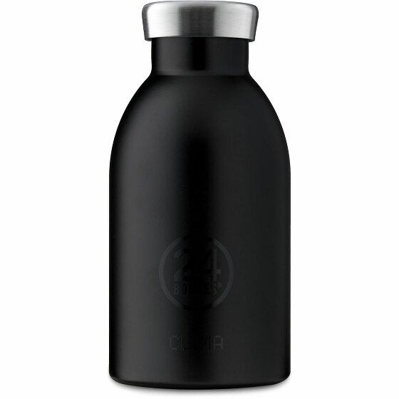 24Bottles Basic Clima Trinkflasche 330 ml tuxedo black 91-tuxedoblack
