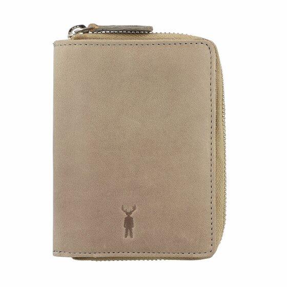 Jack Kinsky Montego 301 Geldbörse Leder 12,5 cm grau Montego301-950