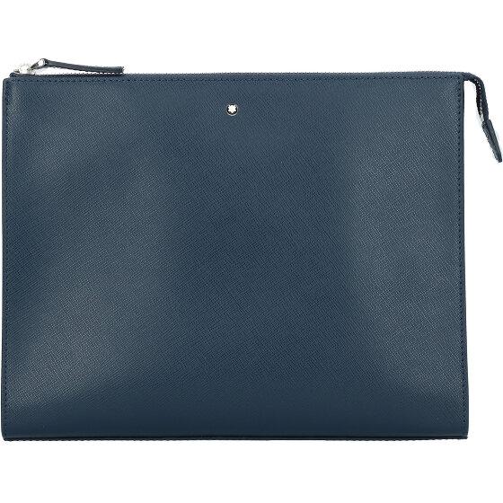 Montblanc Montblanc Sartorial Herrenhandtasche Leder 27 cm indigo 126055