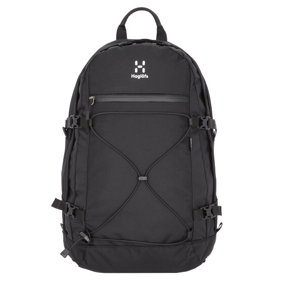 Haglöfs Backup 17 inch Rucksack 50 cm Laptopfach true black 338520-2C5