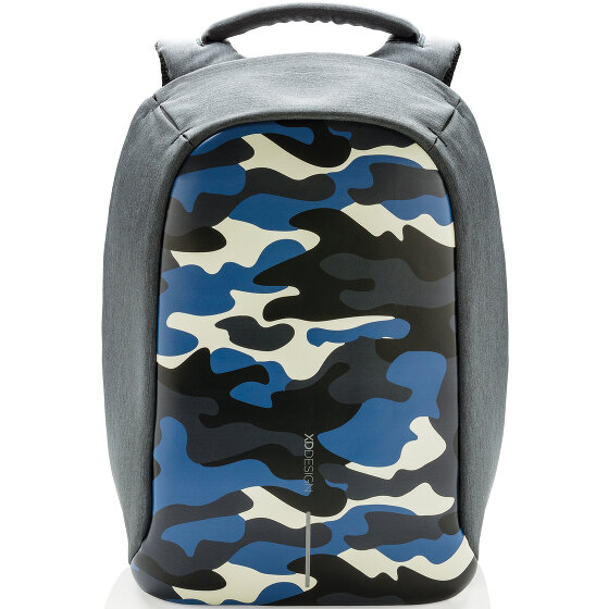 XD Design Bobby Compact Rucksack 39 cm Laptopfach camouflage blue P705-655-camouflage-blue