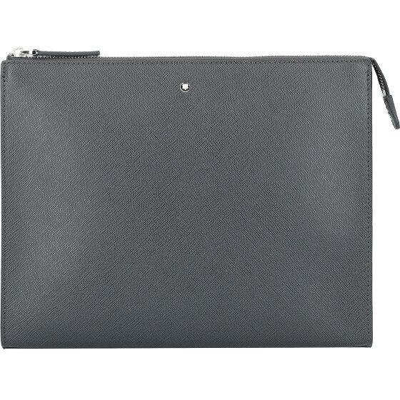 Montblanc Montblanc Sartorial Herrenhandtasche Leder 27 cm grey 126056