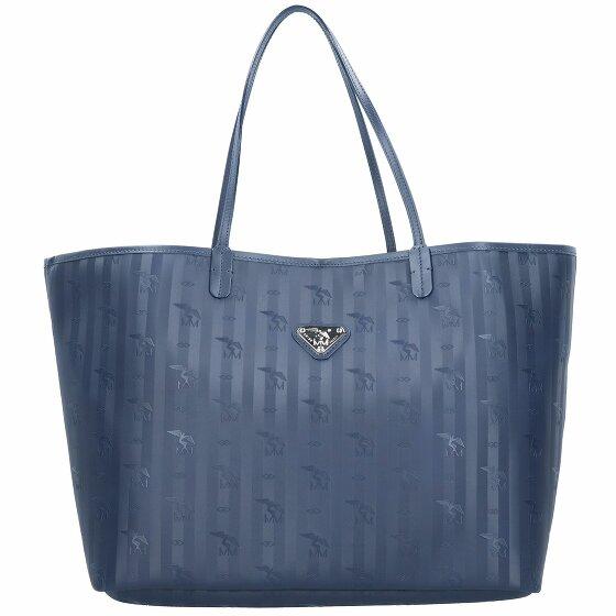 Maison Mollerus Zuerich Shopper Tasche 40 cm ocean 01-2538-4409