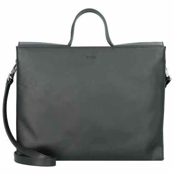 Bree Pure 13 Handtasche Leder 33 cm Laptopfach black 422-900-013
