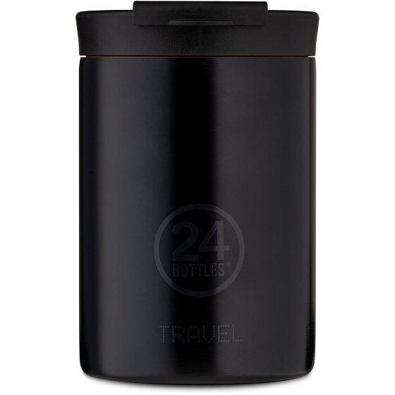 24Bottles Basic Travel Trinkbecher 350 ml tuxedo black 407-tuxedoblack