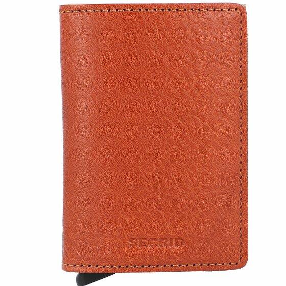 Secrid Slimwallet Vegetable Kreditkartenetui RFID Leder 7 cm caramello-sand SVg-CaramelloSand