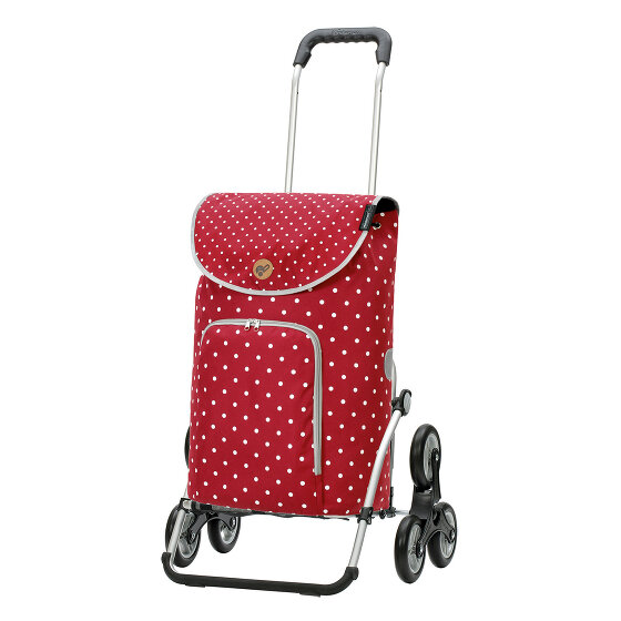 Andersen Shopper Treppensteiger Royal Shopper Ole Einkaufstrolley 57 cm rot 169-155-70