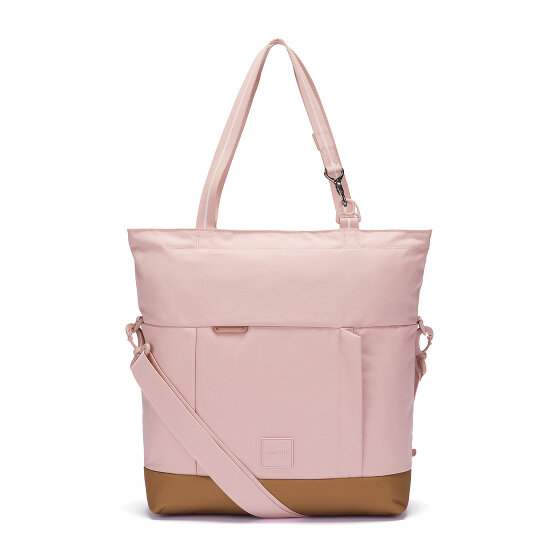 Pacsafe Go Shopper Tasche RFID 34 cm Laptopfach sunset pink 35120-333