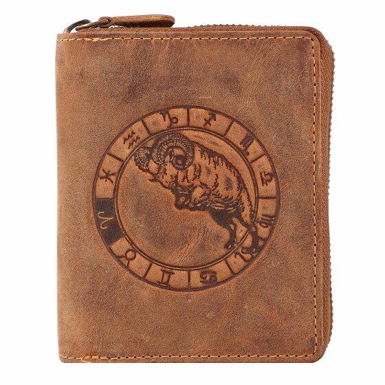 Greenburry Vintage Sternzeichen Geldbörse Leder 10 cm widder 821A-widder