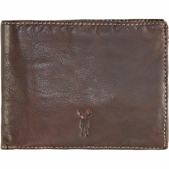 Jack Kinsky Sydney 101 Geldbörse Leder 12 cm mokka sydney101-mokka