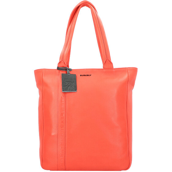 Burkely Bold Bobby Shopper Tasche Leder 32cm Laptopfach red 1005602-84-55