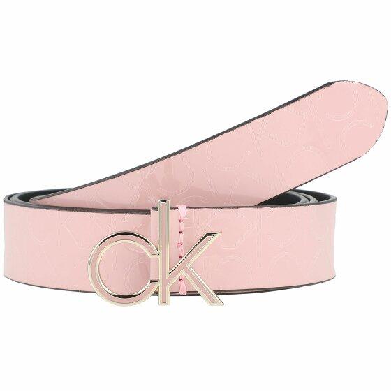 Calvin Klein Low Em Gürtel silver pink 80 cm K60K606820-80-VFM