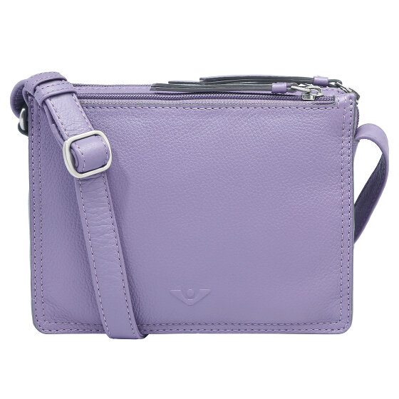 Voi Deluxe Arleen Umhängetasche Leder 20 cm frosted violett 30474-frosted violett