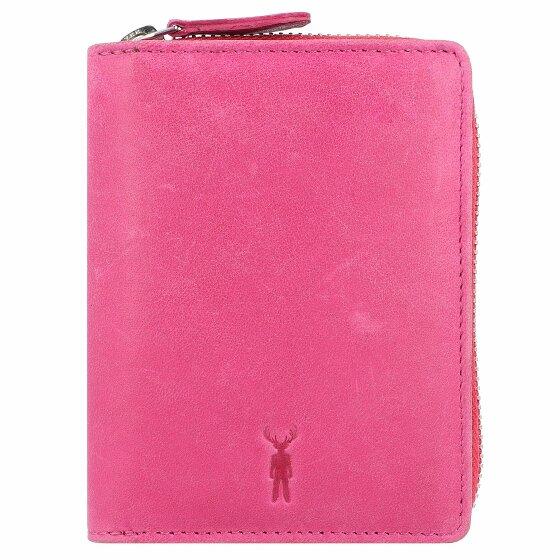 Jack Kinsky Montego 301 Geldbörse Leder 12,5 cm pink Montego301-110