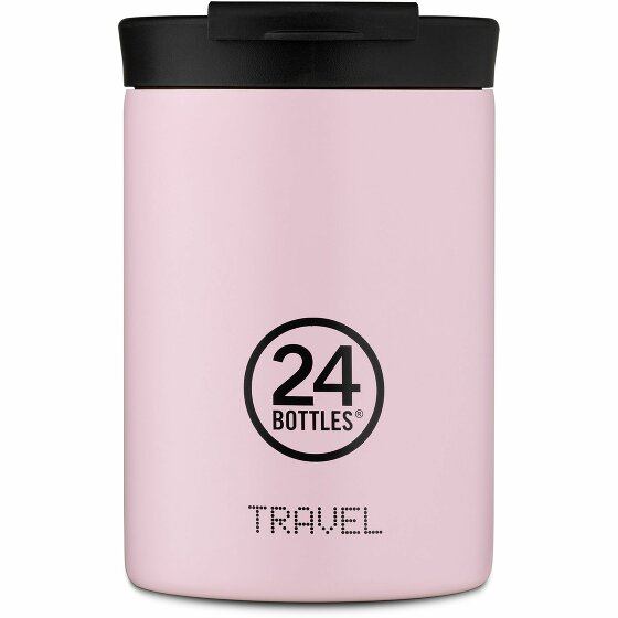 24Bottles Pastel Travel Trinkbecher 350 ml candy pink 411-candypink