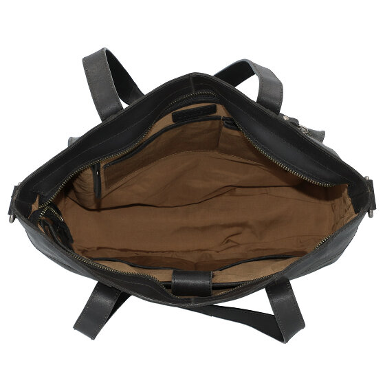 Burkely Vintage Damen Handtaschen Schultertasche, Leder